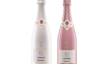 Burbujas en blanco y rosa