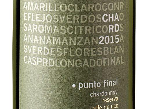 Punto Final Chardonnay Reserva 2015