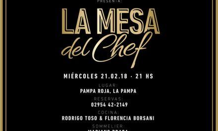 La Mesa del Chef en Pampa Roja