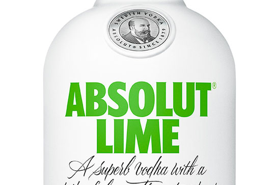 "Absolut lanza ""Lime"""