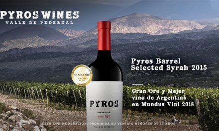 Oro para Pyros Barrel Selected Syrah 2015