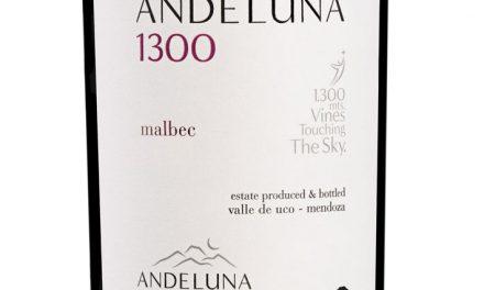 Andeluna 1300 tiene nuevo Malbec
