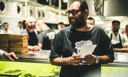 Gaggan Anand en Tegui: fuegos, show y rock and roll