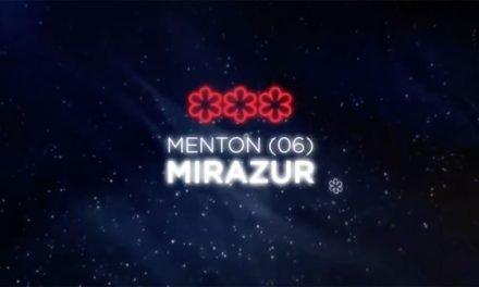 Mirazur recibió la tercera estrella Michelin
