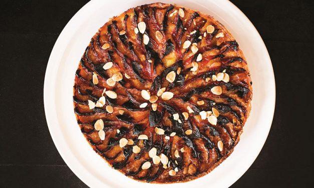 Las recetas de Fernando Trocca: tarta de ciruela y almendras