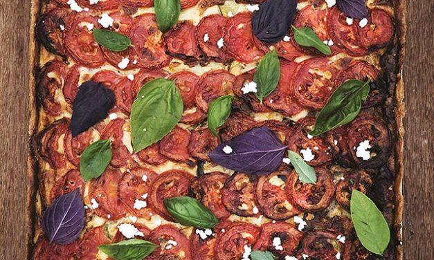 Las recetas de Trocca: Tarta de tomate, berenjena y albahaca