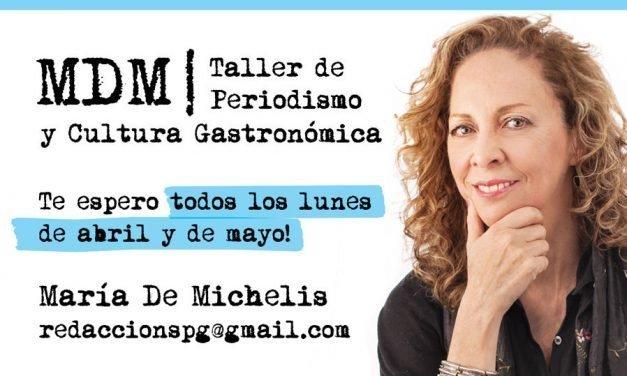 Taller de Periodismo y Cultura Gastronómica