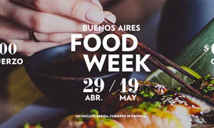 Food Week: dos semanas de alta gastronomía a precios accesibles