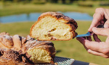 Rosca de Pascuas del pastelero Luciano García