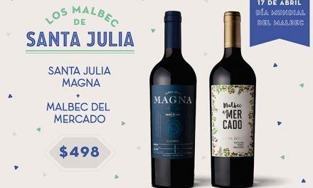 Bodega Santa Julia celebra el día mundial del Malbec