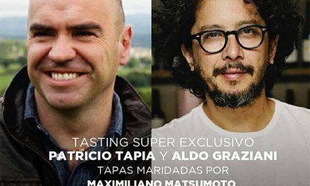 Graziani y Tapia en una cata única