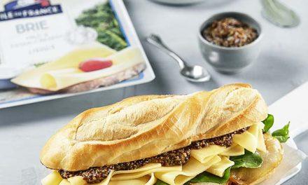 Ile de France presenta sus nuevos quesos en fetas