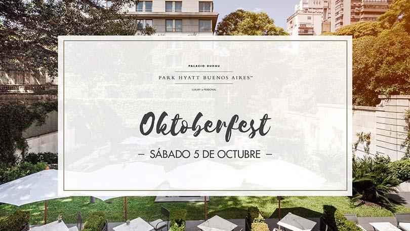 Oktoberfest en el Duhau