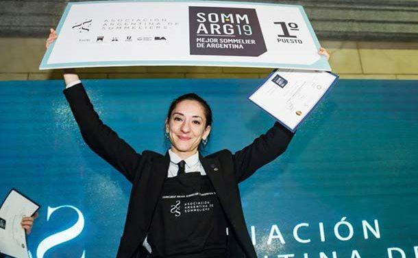 Valeria Gamper, mejor sommelier de Argentina