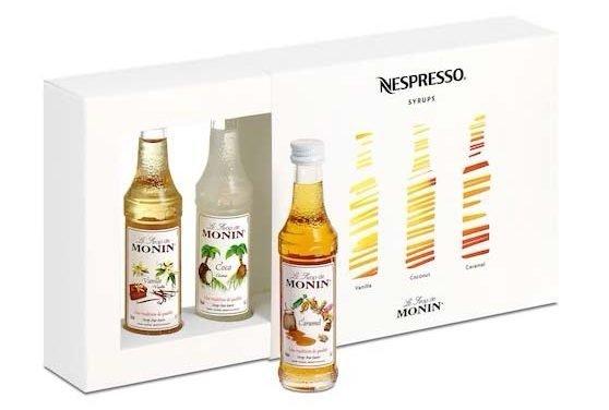 Nuevas Nespresso Syrups