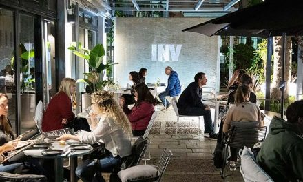 Invernadero Bar, un oasis en la ciudad