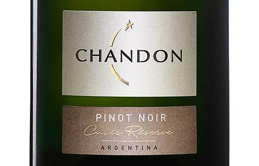 Chandon Cuvée Réserve Pinot Noir, mejor espumante argentino