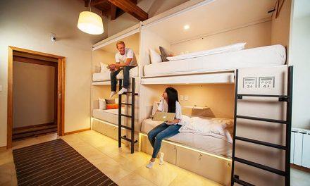 My Pod, el primer hotel cápsula del país