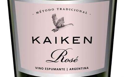 Brut Rosé, el primer espumante rosado de Kaiken
