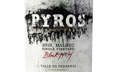 Pyros Wines presenta Valle del Pedernal Malbec