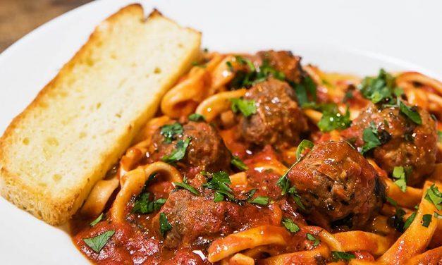 Las albóndigas en salsa de tomate de Cosi Mi Piace