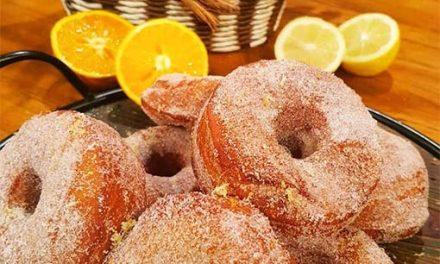 Ciambelle, un dulce italiano por Juan Ferrara