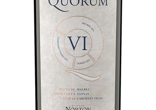 Bodega Norton presenta Quorum VI
