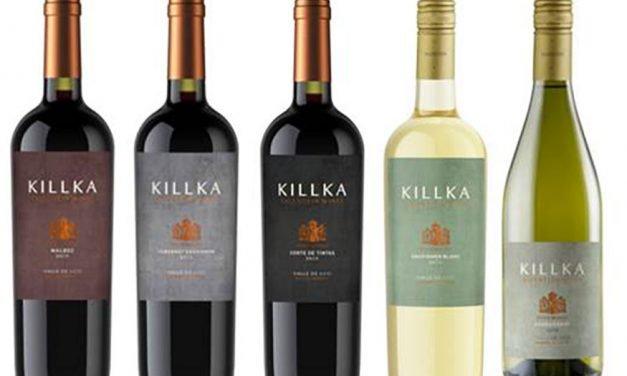 Killka, renovada línea de vinos