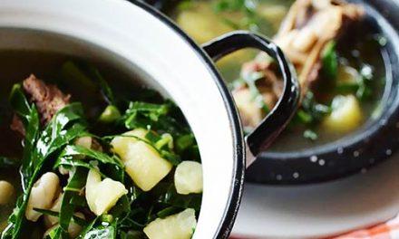 Caldo verde o sopa portuguesa