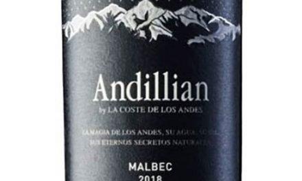 Nuevo Malbec 2018 de Andillian