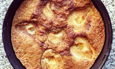 Torta de peras