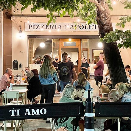 Ti Amo, pizzería secreta