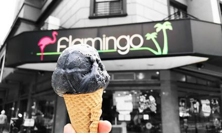 El helado negro llegó a Vicente López