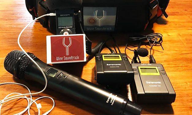 El podcast internacional sobre vinos, llega al país