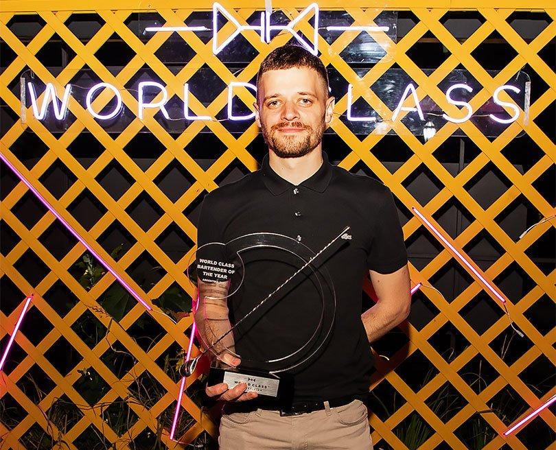 Fran Vacalluzo, ganador de World Class Argentina
