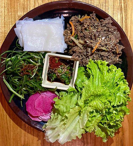 Restaurante Mr Ho, carne