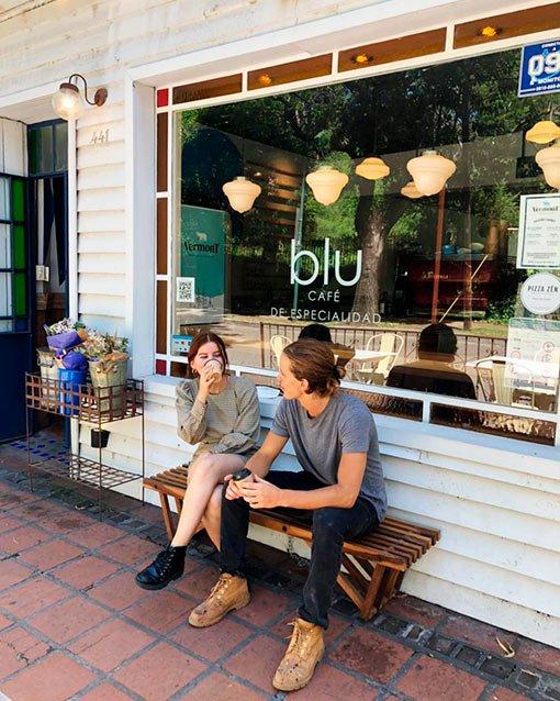 Restaurante Blu, San Isidro. Local