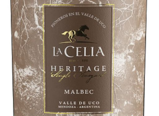 La Celia Heritage, un Malbec con historia