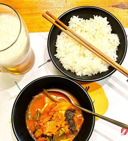 Restaurante Fa Song Song, mesa