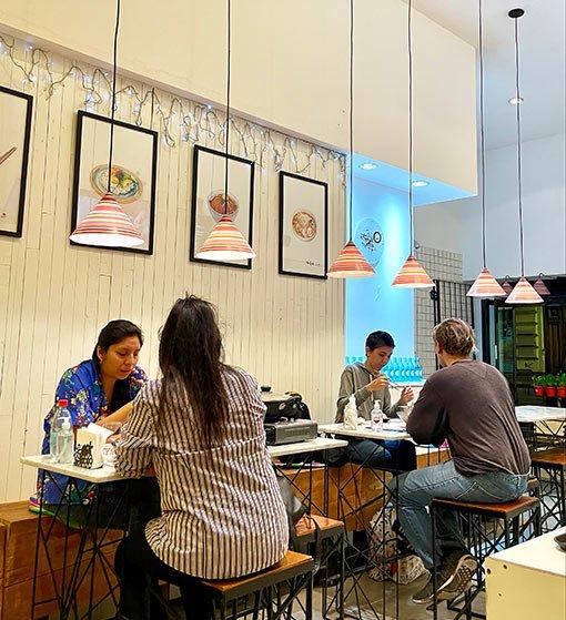 Restaurante Fa Song Song, salon