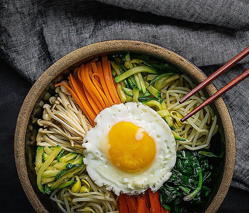 Festival Hansik, cocina coreana, bibimbap