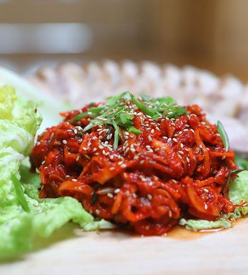 Festival Hansik, cocina coreana, kimchi
