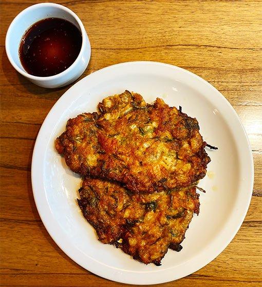 Una Canción Coreana, tortilla coreana