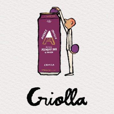 Criolla, una cerveza en honor a la vendimia
