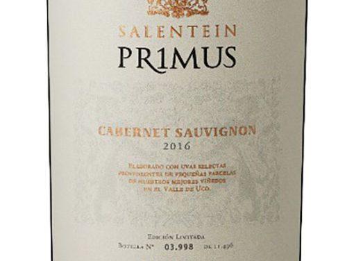 Primus, mejor Cabernet Sauvignon en The Asian Masters